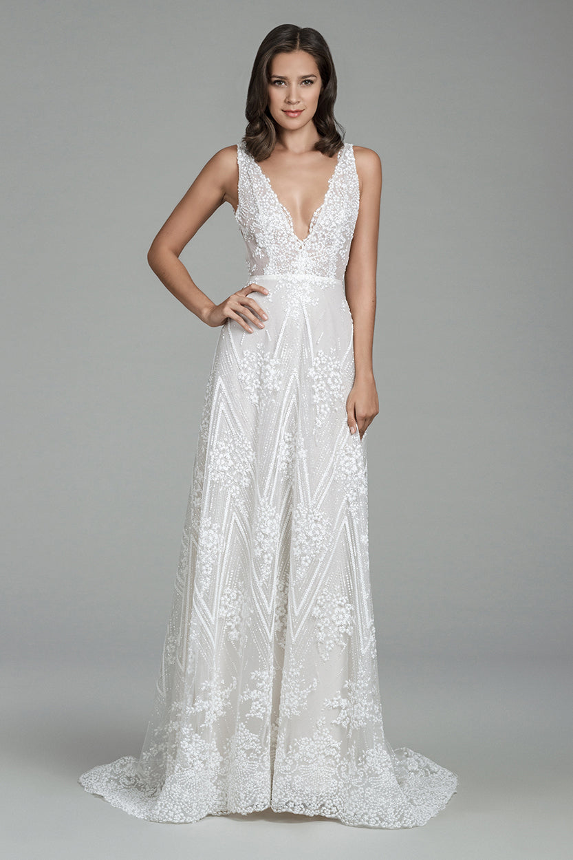Hazel, Gown, Tara Keely by Lazaro - Eternal Bridal