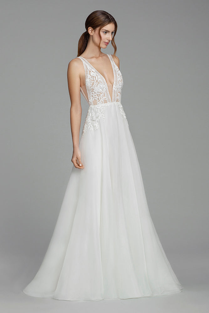 Cristina - New, Gown, Tara Keely by Lazaro - Eternal Bridal