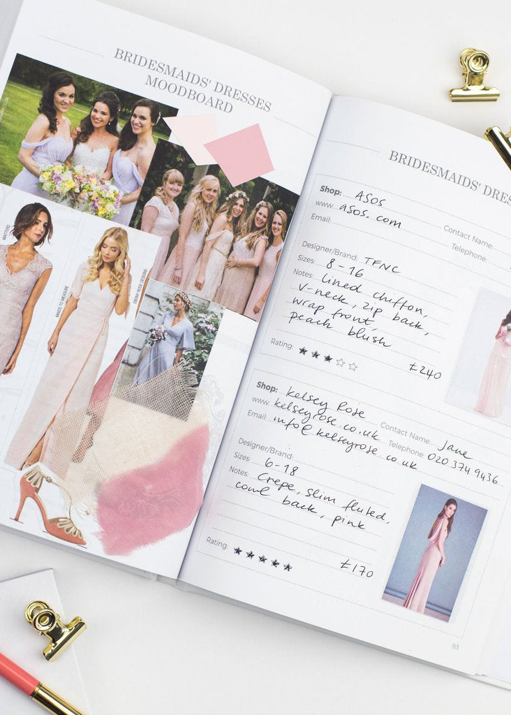My Wedding Planner - Grey, Bridal Gifts, Blush & Gold - Eternal Bridal