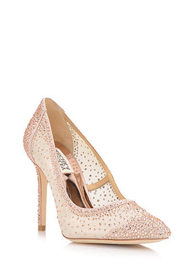 Weslee Blush - Last Pair, Shoes, Badgley Mischka - Eternal Bridal