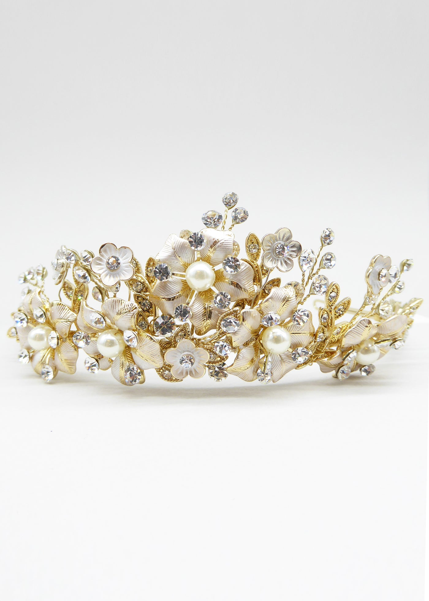 Enchanted Heart Crown - Headpiece - Eternal Bridal - Eternal Bridal
