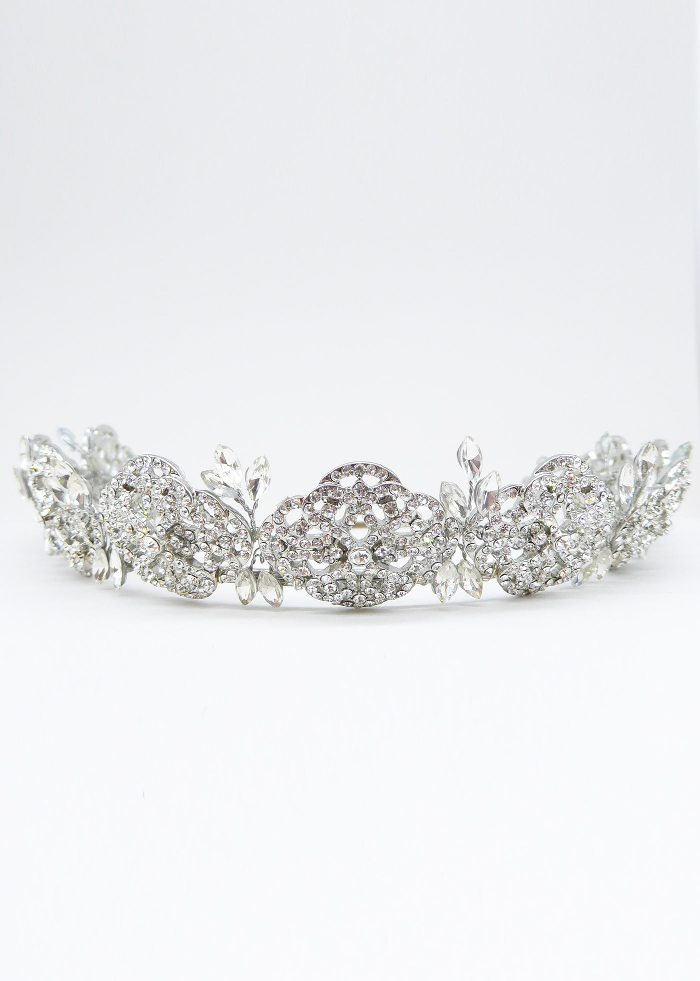 English Rose Crown - Headpiece - Eternal Bridal - Eternal Bridal