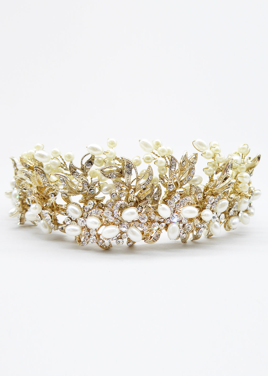 Affection Crown, Headpiece, Eternal Bridal - Eternal Bridal