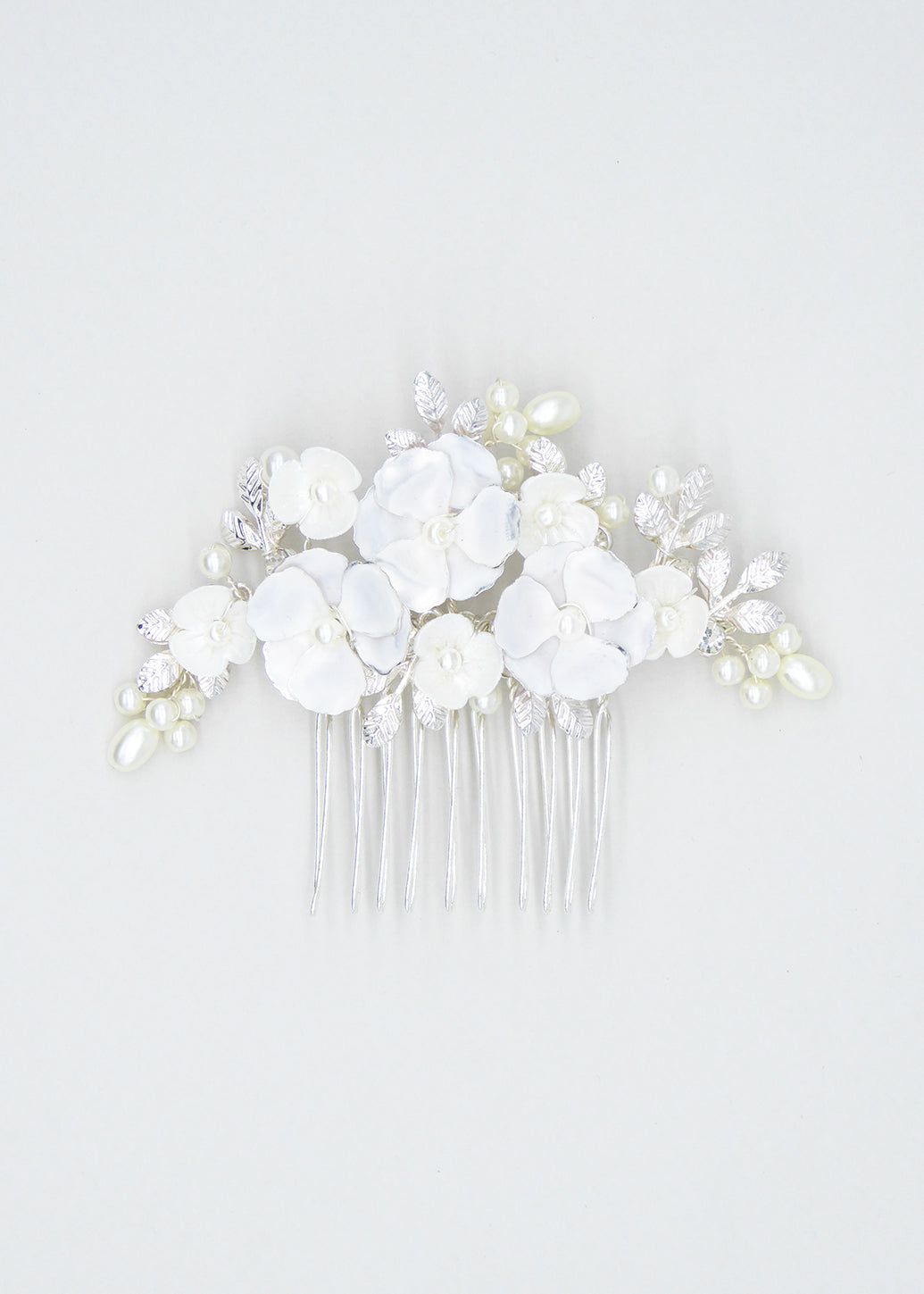 Kiss Me Comb, Headpiece, Eternal Bridal - Eternal Bridal