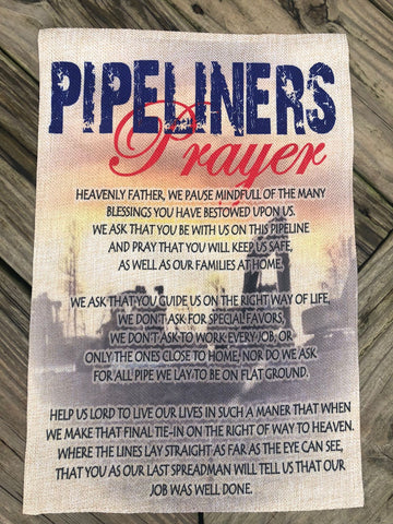 Pipeline Prayer Flag