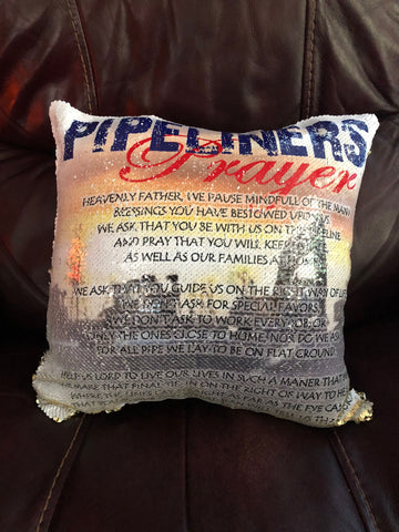 Pipeline Prayer Pillow