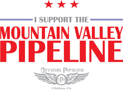 I SUPPORT THE PIPELINE T-SHIRT
