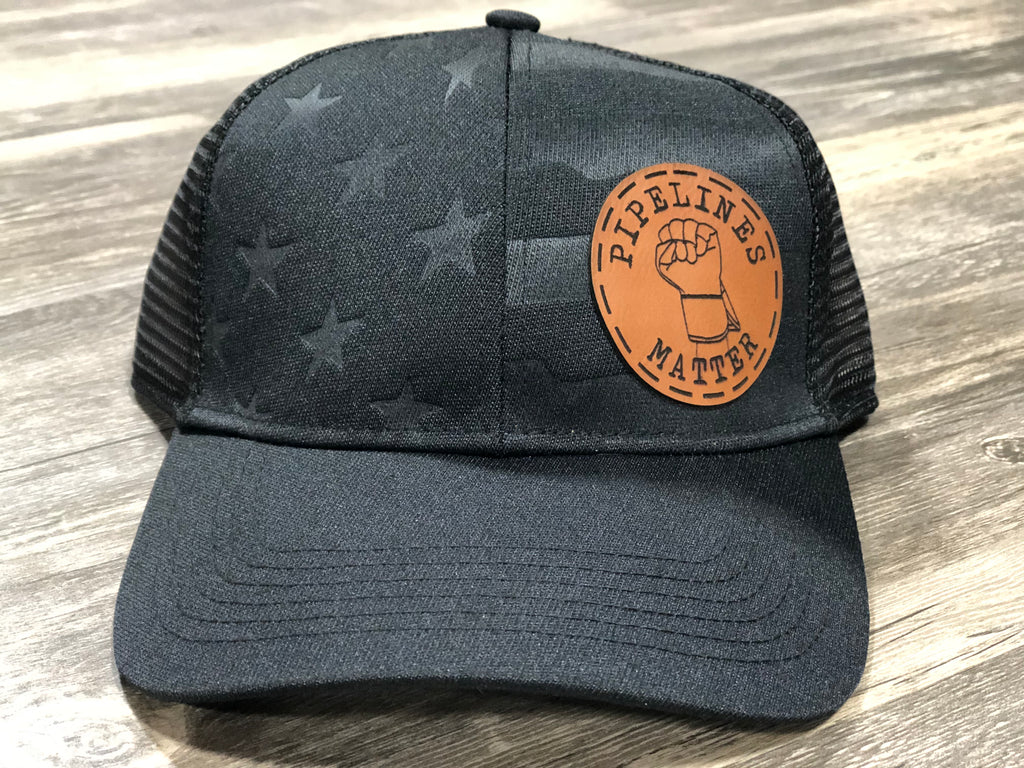 PIPELINES MATTER LEATHER PATCH HAT