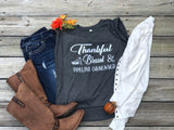 Thankful Blessed & Pipeline Obsessed Short Sleeve