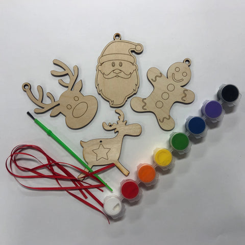 Paint your own ornament kit