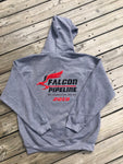 Falcon Pipeline Embroidered Hoodie
