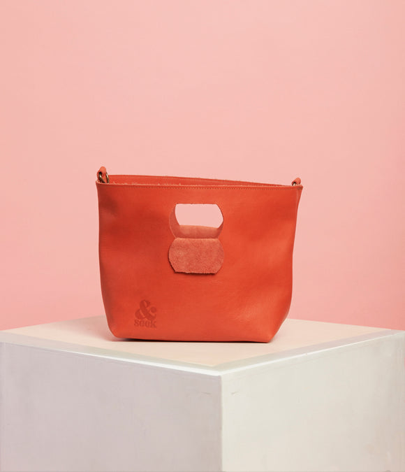 Naartjie Leather Handbag - The Smaller Size