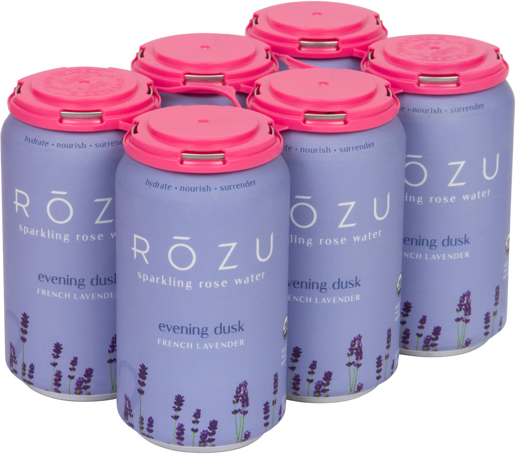 Sparkling French Lavender Water - Rōzu - Sparkling Rose Water