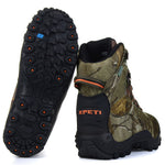 XPETI Thermator Hiking Boots, Women's Outdoor Trekking Hiker Shoes Mountain High Rise Vegan Lightweight