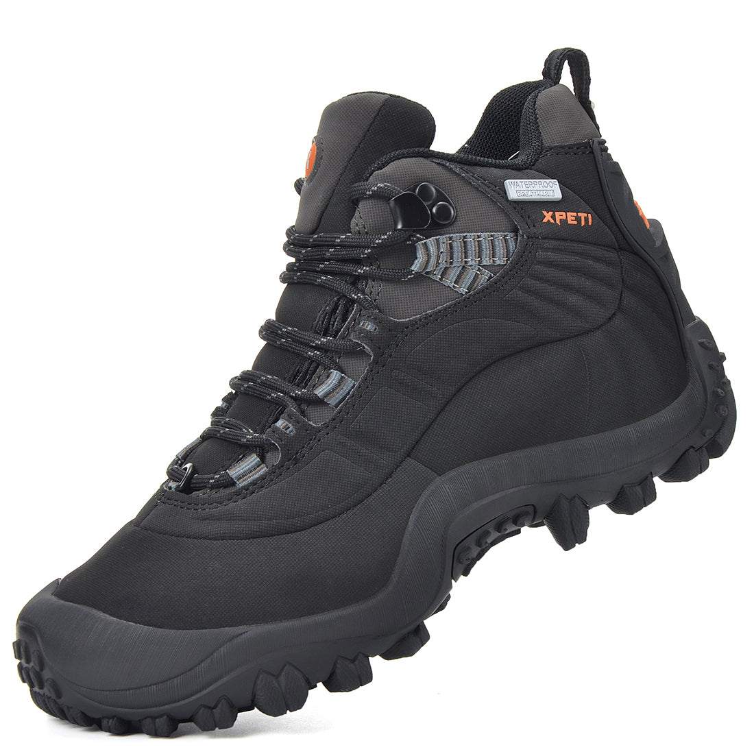 XPETI Thermador Men's Waterproof Mid Rise Hiking Boots