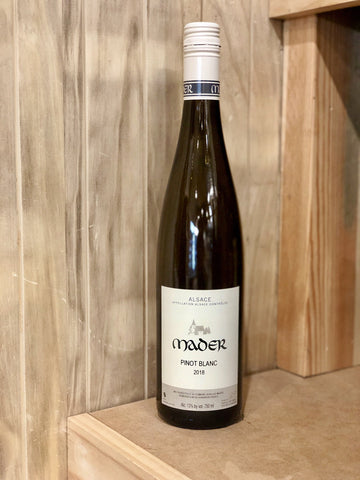 Mader Pinot Blanc Blanc Alsace 2018 - $30/Bottle