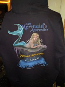 Mermaid's Apprentice Hoodie - Back