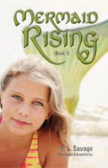 Mermaid Rising by C. L. Savage, front book cover