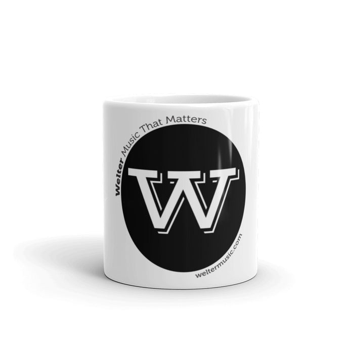 Mug Black Logo - Welter's Music Shop