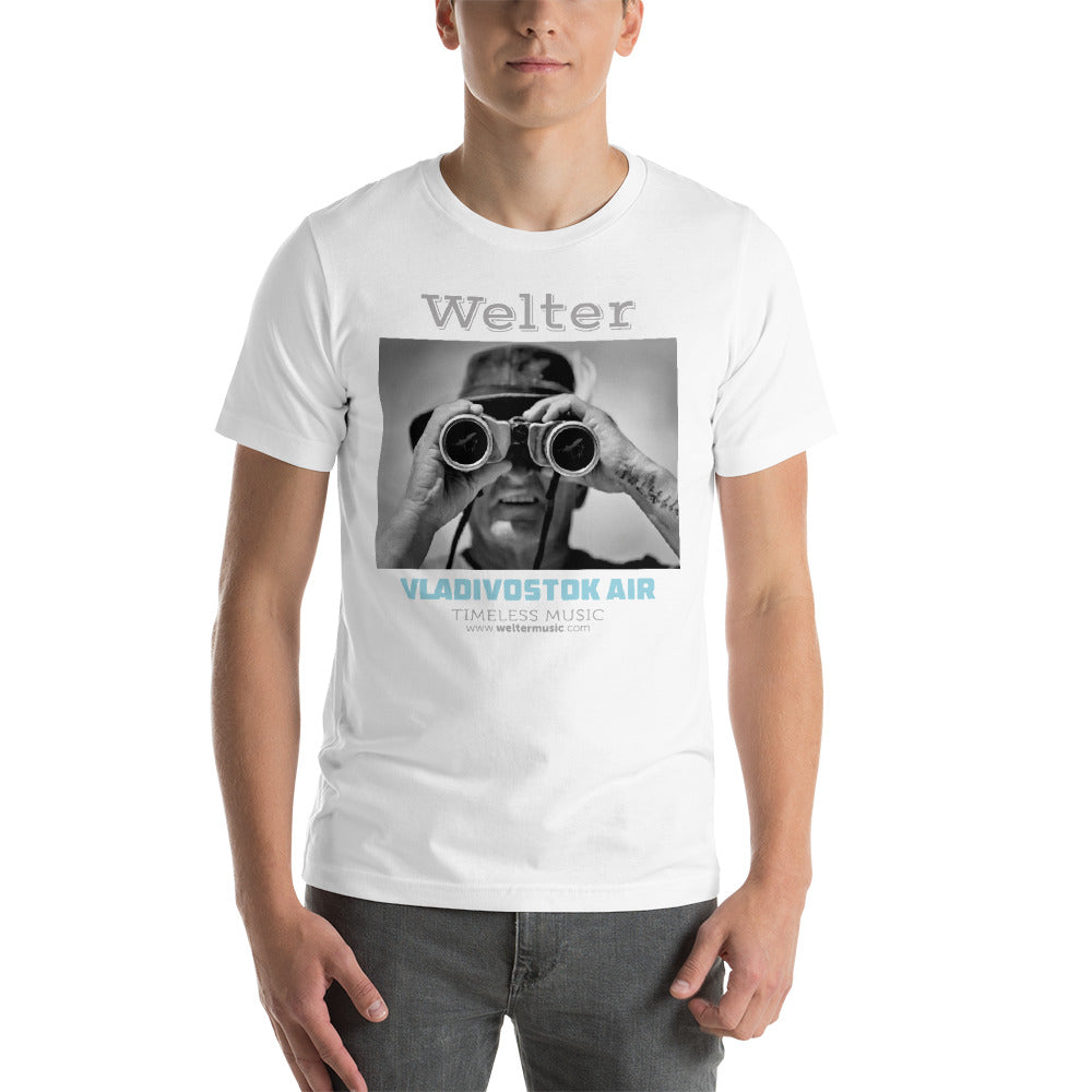 White Album Cover Design T-Shirt - Welter's Music Shop