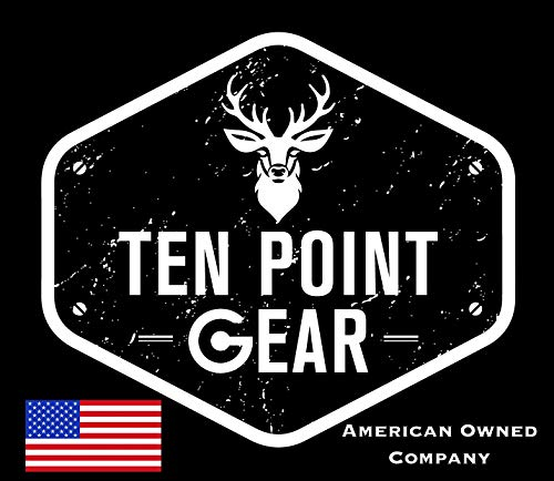 Ten Point Gear Extra Wide Gun Sling Paracord 550 Adjustable w/Swivels (Black)