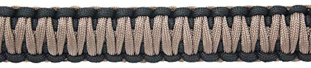 Ten Point Gear Gun Sling Paracord 550 Adjustible w/Swivels (Black & Coyote Brown)