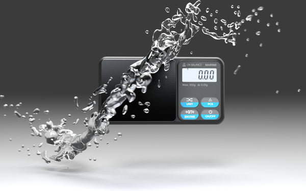 WORLD FIRST IP65 RATED WATER-RESISTANT POCKET SCALE LAUNCHES