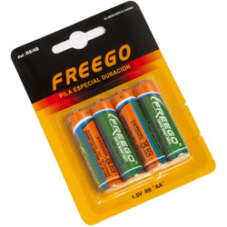 Batteries AA. Pack of 4