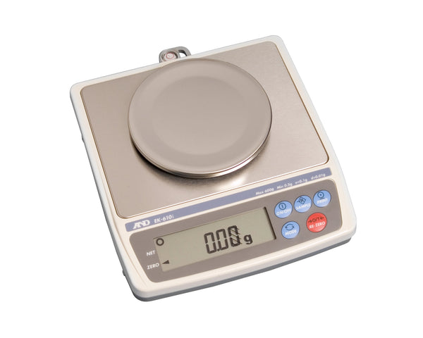 EK-610i A&D Precision Balance for Weighing Jewellery (Class II) 600g x 0.01g