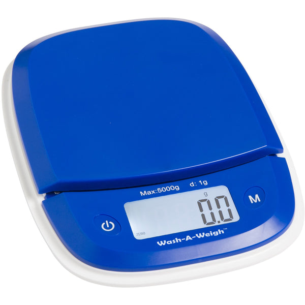 FBW-5000 On balance Washable Fold-a-Bowl Kitchen Scale 5000g x 1g