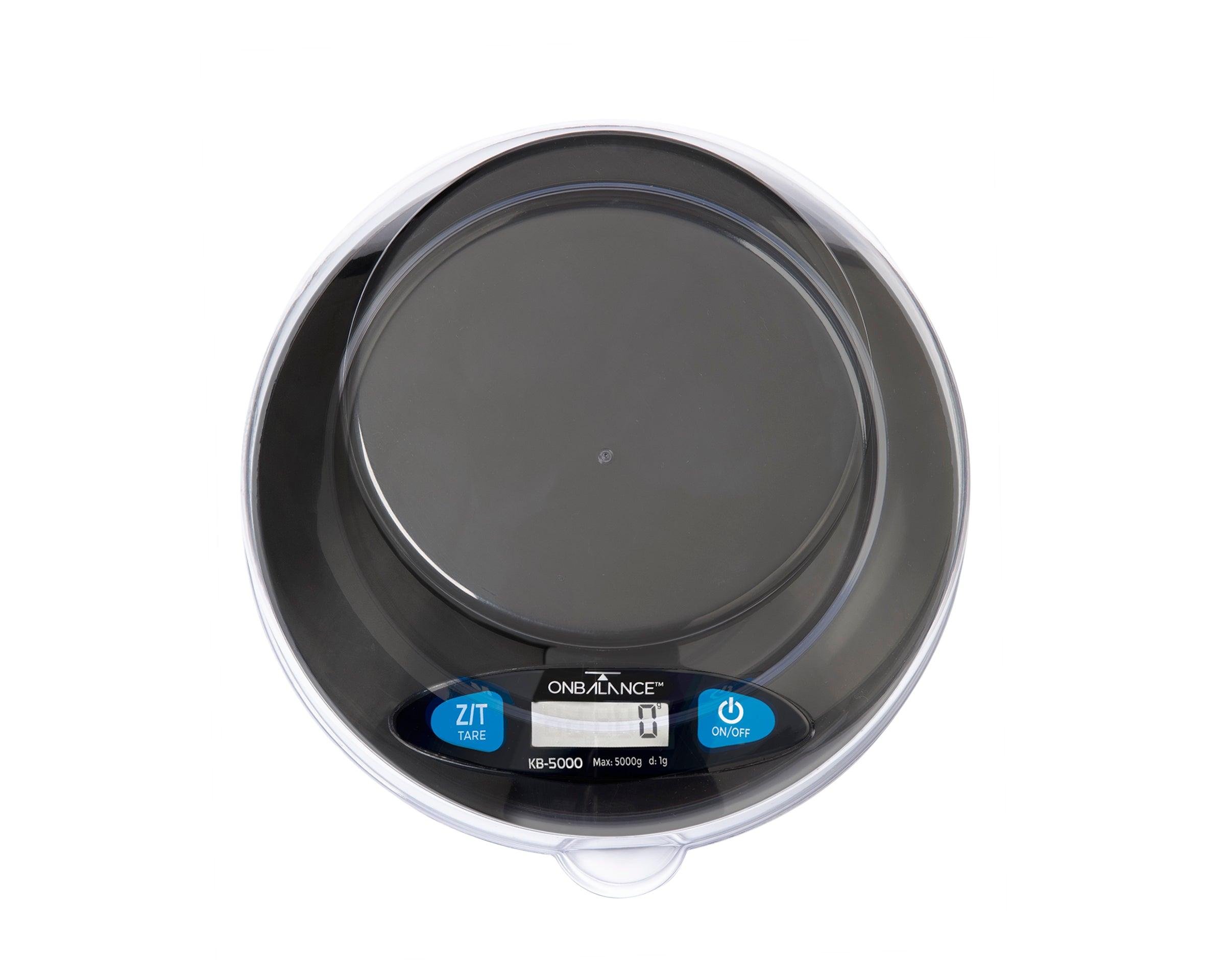KB-5000 On Balance Versatile Kitchen Scale 5000g x 1g