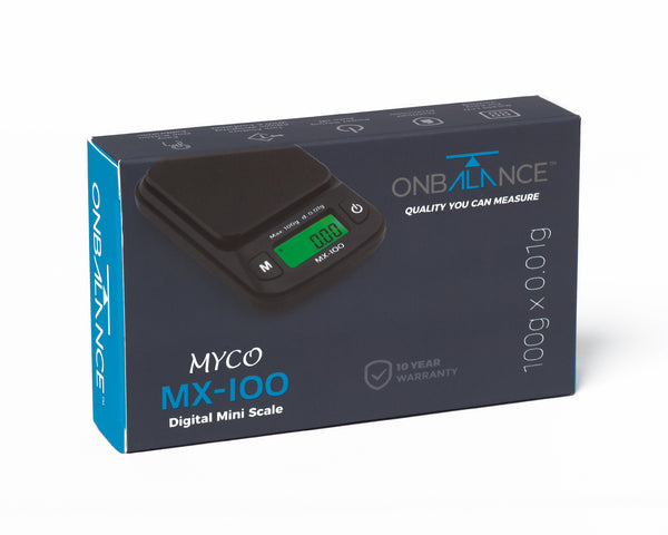 MX-100 Myco MX Series Digital Miniscale 100g x 0.01g