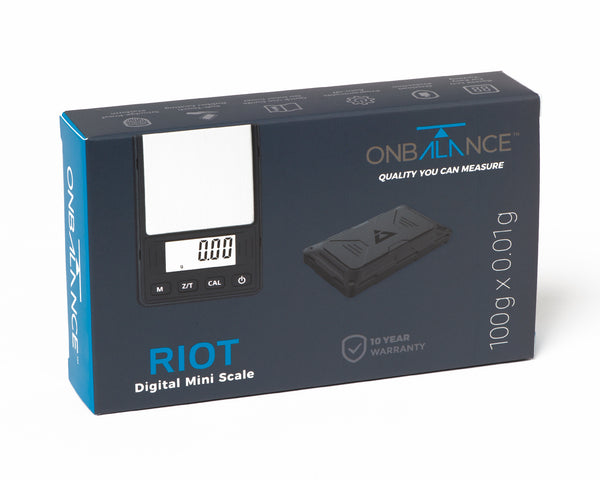 RIOT On Balance Digital Mini Scale 100g X 0.01g