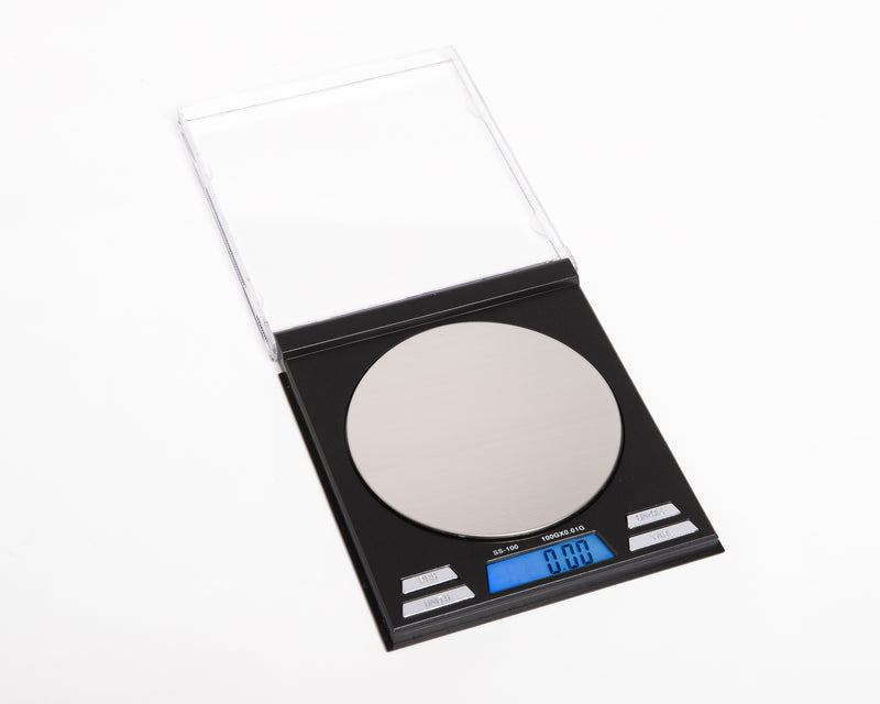 SS-100 On Balance Square Scale 100g x 0.01g