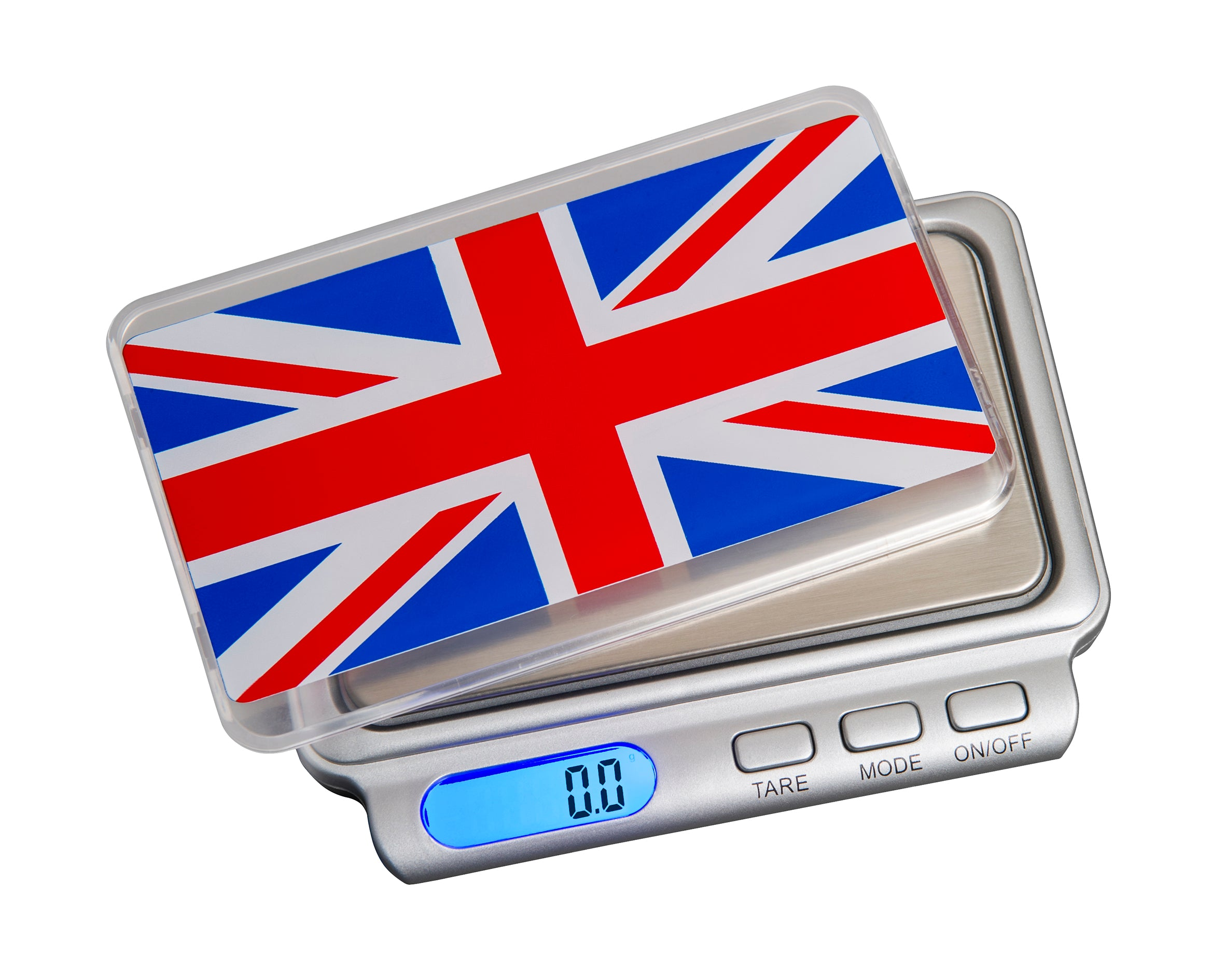 SALE! TW-600-GB On Balance Special Edition Union Jack Truweigh 600g x 0.1g