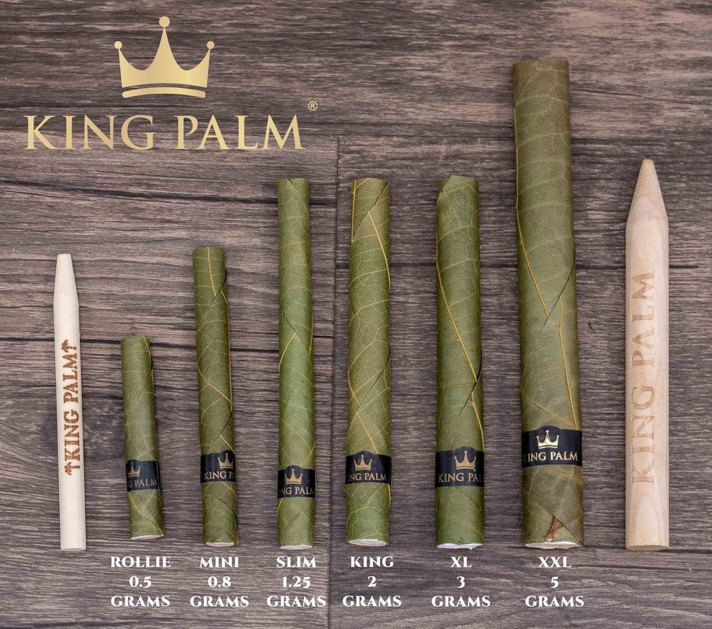 King Palm Slim 5 Pack Pouch (x2)