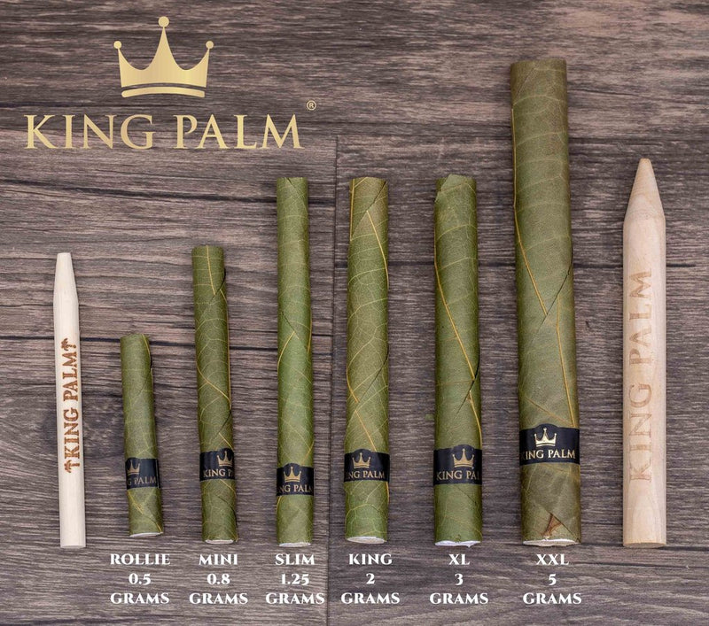King Palm Mini 5 Pack Pouch (x2)