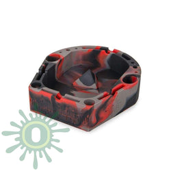 Banger Tray - Black / Red Grey Ashtray