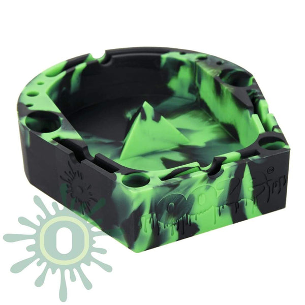 Banger Tray - Green/black Ashtray