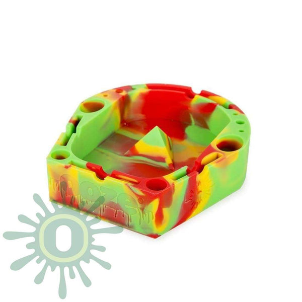 Banger Tray - Rasta Ashtray