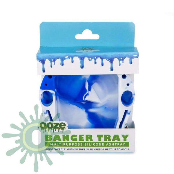Banger Tray - White / Blue