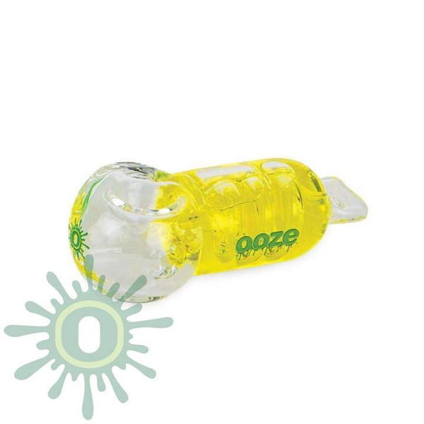 Cryo Glycerin Glass Bowl - Yellow
