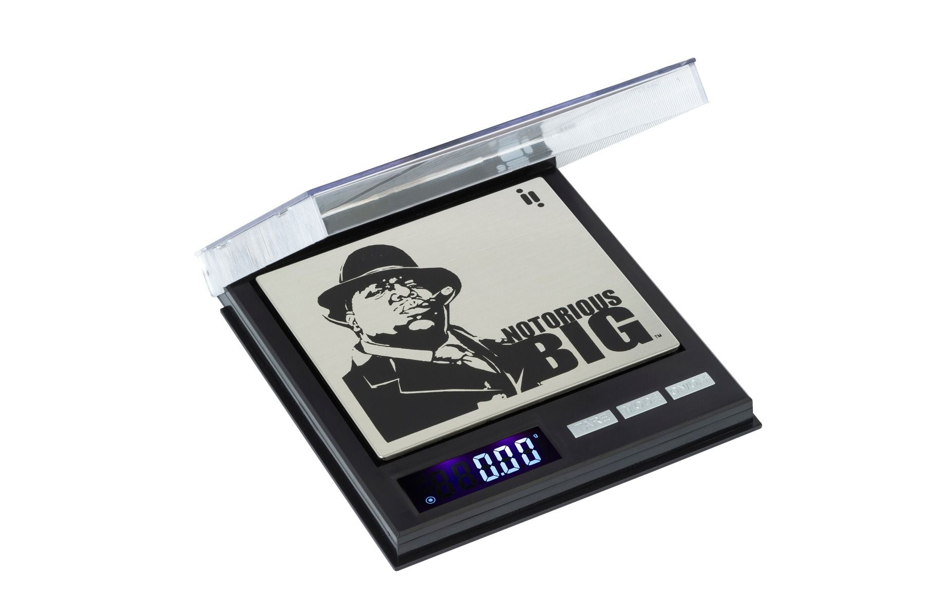 IN-BGC0100 Officially licensed Notorious BIG CD scale 100 x 0.01g