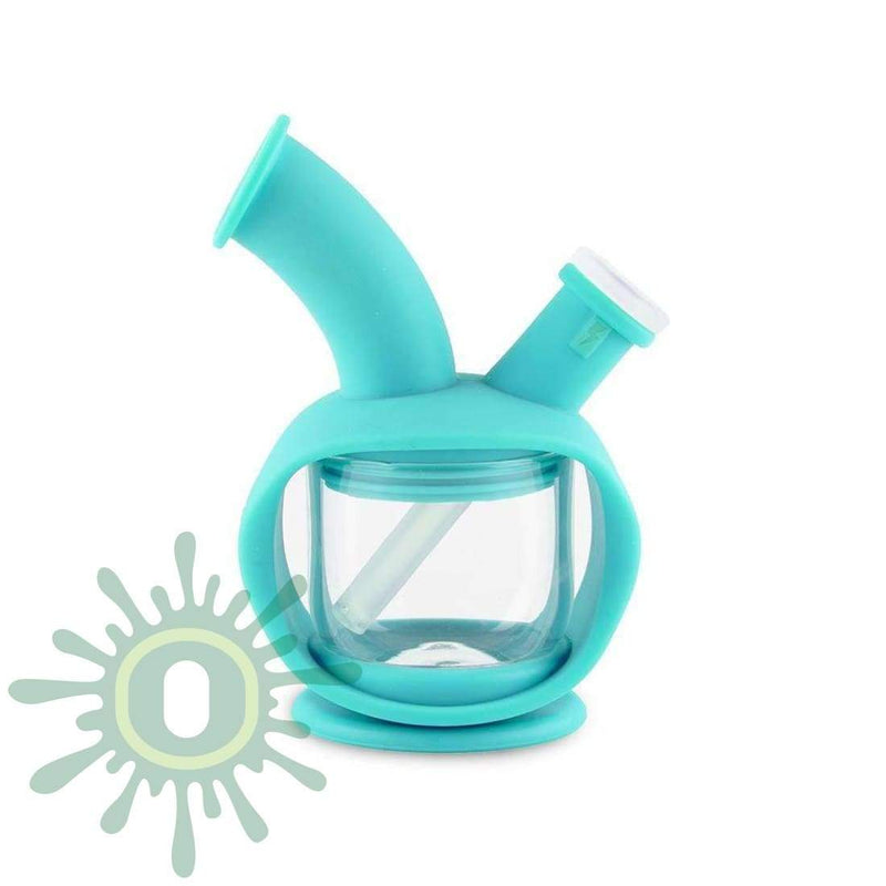 Ooze Kettle Silicone Bubbler - Teal
