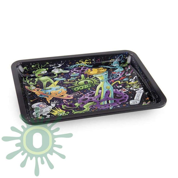 Ooze Rolling Tray Small - Universe