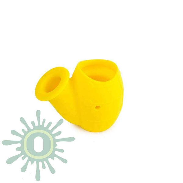 SAX Silicone Water Pipe - Yellow