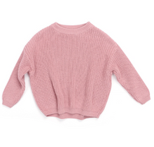 Load image into Gallery viewer, Mauve Oversized Sweater