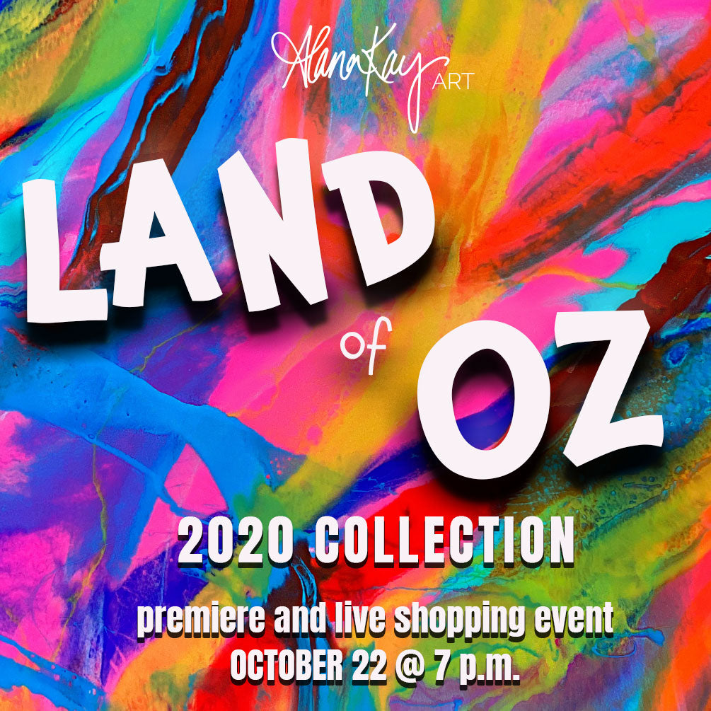 AlanaKayART Land of Oz 2020 Collection Release