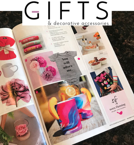 Gifts and Decor Magazine AlanaKayART feature