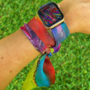Wrist Scarf - Apple Watch Band WITH Connectors - AlanaKay Art
